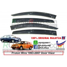 Proton Wira 1993-2007 AG Door Visor Air Press Wind Deflector (Big 12cm Width)