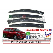 Proton Ertiga 2016 AG Door Visor Air Press Wind Deflector (Big 12cm Width)