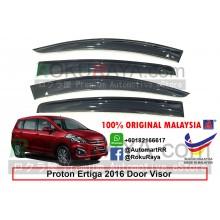 Proton Ertiga 2016 AG Door Visor Air Press Wind Deflector (Big 12cm Width)