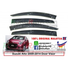 Suzuki Alto (7th Gen) 2009-2014 AG Door Visor Air Press Wind Deflector (Big 12cm Width)