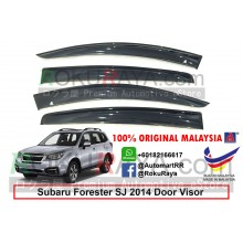 Subaru Forester SJ (4th Gen) 2014 AG Door Visor Air Press Wind Deflector (Big 12cm Width)