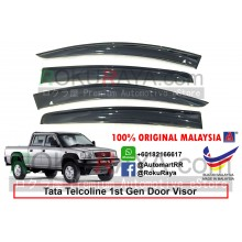 Tata Telcoline (1st Gen) AG Door Visor Air Press Wind Deflector (Big 12cm Width)