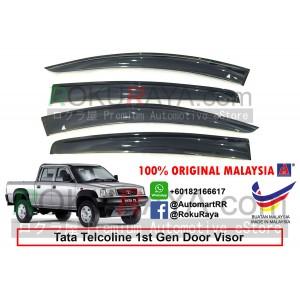 Tata Telcoline (1st Gen) AG Door Visor Air Press Wind Deflector (Big 12cm Width)