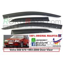 Volvo 850 S70 1993-2000 AG Door Visor Air Press Wind Deflector (Small 7cm Width)
