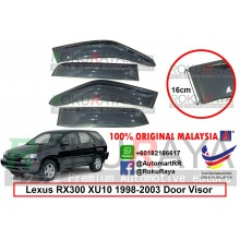Lexus RX300 XU10 (1st Gen) 1998-2003 AG Door Visor Air Press Wind Deflector (Extra Big 16cm Width)