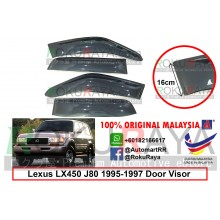 Lexus LX450 J80 (1st Gen) 1995-1997 AG Door Visor Air Press Wind Deflector (Extra Big 16cm Width)