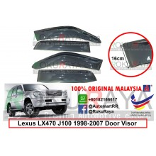 Lexus LX470 J100 (1st Gen) 1998-2007 AG Door Visor Air Press Wind Deflector (Extra Big 16cm Width)