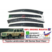 Toyota Landcruiser J60 Series 1980-1989 AG Door Visor Air Press Wind Deflector (Big 12cm Width)