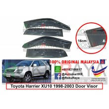 Toyota Harrier XU10 (1st Gen) 1998-2003 AG Door Visor Air Press Wind Deflector (Extra Big 16cm Width)