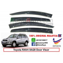 Toyota RAV4 XA20 (2nd Gen) 2000-2005 AG Door Visor Air Press Wind Deflector (Big 12cm Width)