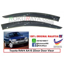 Toyota RAV4 XA10 2Door (1st Gen) 1994-2000 AG Door Visor Air Press Wind Deflector (Big 12cm Width)