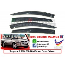 Toyota RAV4 XA10 4Door (1st Gen) 1994-2000 AG Door Visor Air Press Wind Deflector (Big 12cm Width)