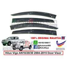 Toyota Hilux Vigo AN10/20/30 (7th Gen) 2004-2015 AG Door Visor Air Press Wind Deflector (Big 12cm Width)