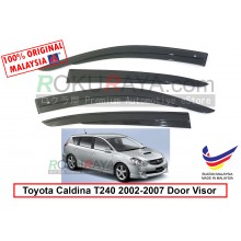 Toyota Caldina T240 (3rd Gen) 2002-2007 AG Door Visor Air Press Wind Deflector (AG Mugen Design)
