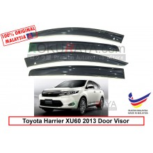 Toyota Harrier XU60 (3rd Gen) 2013 AG Door Visor Air Press Wind Deflector (Big 12cm Width)