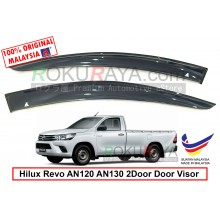 Toyota Hilux Revo AN120 AN130 2Door (8th Gen) 2015 AG Door Visor Air Press Wind Deflector (Big 12cm Width)