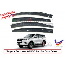Toyota Fortuner AN150 AN160 (2nd Gen) 2015 AG Door Visor Air Press Wind Deflector (Big 12cm Width)