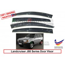 Toyota Landcruiser J80 Series 1990-1997 AG Door Visor Air Press Wind Deflector (Big 12cm Width)