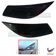Proton Exora Custom Fit ABS Plastic Car Headlamp Head Lamp Eyelid Eye Lid Brow Cover