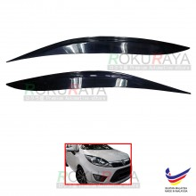 Proton Iriz Custom Fit ABS Plastic Car Headlamp Head Lamp Eyelid Eye Lid Brow Cover