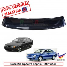 Kia Spectra / Sephia (Sedan and Hatchback) AG Rear Wing Spoiler Visor Windscreen Sun Shade (Big 20cm)