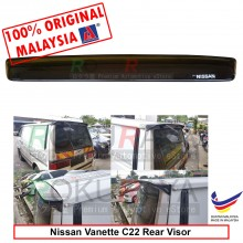 Nissan Vanette 2Door (2nd Gen) C22 1985-1994 AG Rear Wing Spoiler Visor Windscreen Sun Shade (Type II)
