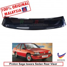 Proton Saga Iswara Sedan ( 1st Gen ) 1985-2008 AG Rear Wing Spoiler Visor Windscreen Sun Shade (Big 20cm)