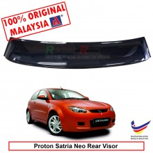 Proton Satria Neo 2Door (2nd Gen) 2006-2015 AG Rear Wing Spoiler Visor Windscreen Sun Shade (Big 20cm)