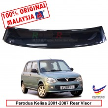 Perodua Kelisa (2001-2007) AG Rear Wing Spoiler Visor Windscreen Sun Shade (Big 20cm)