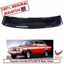Toyota Corolla E70 KE70 (4th Gen) 1979-1987 AG Rear Wing Spoiler Visor Windscreen Sun Shade (Big 20cm)