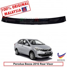 Perodua Bezza 2016 AG Rear Wing Spoiler Visor Windscreen Sun Shade (Small 10cm)