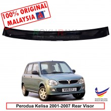 Perodua Kelisa (2001-2007) AG Rear Wing Spoiler Visor Windscreen Sun Shade (Small 10cm)
