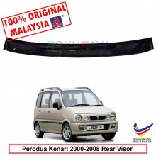 Perodua Kenari (2000-2008) AG Rear Wing Spoiler Visor Windscreen Sun Shade (Small 10cm)