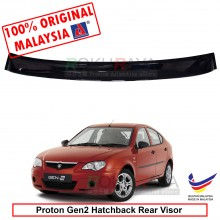 Proton Gen2 Gen 2 Hatchback AG Rear Wing Spoiler Visor Windscreen Sun Shade (Small 10cm)
