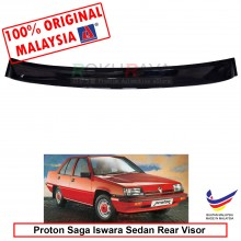 Proton Saga Iswara Sedan ( 1st Gen ) 1985-2008 AG Rear Wing Spoiler Visor Windscreen Sun Shade (Small 10cm)