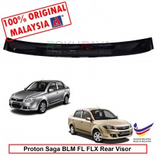 Proton Saga BLM FL FLX (2nd Gen) 2008-2016 AG Rear Wing Spoiler Visor Windscreen Sun Shade (Small 10cm)