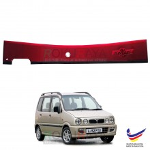 Perodua Kenari 2000-2008 Rear Bonnet Center Safety Reflective Red Reflector