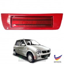 Perodua Kancil New Round Head Lamp 2002-2009 Custom Fit Rear Bonnet Safety Reflective Red Reflector Number Plate Holder Frame