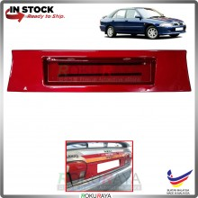 Proton Wira (Aeroback Only) Custom Fit Rear Bonnet Safety Reflective Red Reflector Number Plate Holder Frame