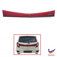 Perodua Axia 2014 (Without Handle) Rear Bonnet Center Safety Reflective Red Reflector