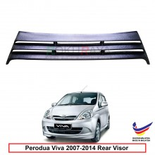 Perodua Viva OEM Plastic ABS Rear Windscreen Sun Shade Guard 3 Step Air Terjun