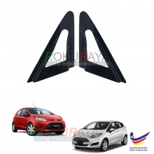 Ford Fiesta MK7 (6th Gen) 2008-2017 Aerodynamic Front Triangle Side Window Mirror Cover (J's JS Racing Design)