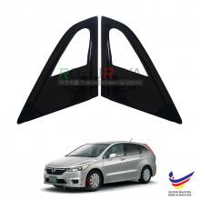 Honda Stream (2nd Gen) 2006-2014 Aerodynamic Front Triangle Side Window Mirror Cover (J's JS Racing Design)