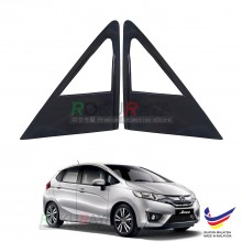 Honda Jazz (3rd Gen) 2013 Aerodynamic Front Triangle Side Window Mirror Cover (J's JS Racing Design)