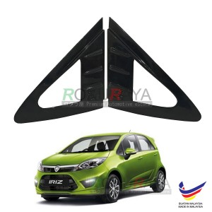 Proton Iriz 2014 Aerodynamic Front Triangle Side Window Mirror Cover (J's JS Racing Design)