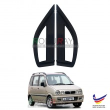 Perodua Kenari 2000-2008 Aerodynamic Front Triangle Side Window Mirror Cover (J's JS Racing Design)
