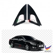 Peugeot 508 (1st Gen) 2011-2018 Aerodynamic Front Triangle Side Window Mirror Cover (J's JS Racing Design)