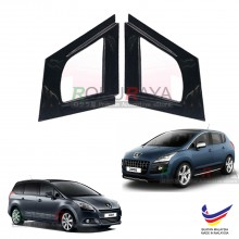 Peugeot 3008 MPV (1st Gen) 2008-2016 Aerodynamic Front Triangle Side Window Mirror Cover (J's JS Racing Design)