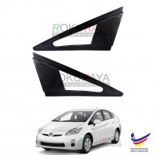 Toyota Prius XW30 (3rd Gen) 2009-2015 Aerodynamic Front Triangle Side Window Mirror Cover (J's JS Racing Design)