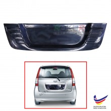 Perodua Viva Custom Fit Rear Bonnet OEM ABS Acrylic Plastic Decorative Number Plate Holder Black